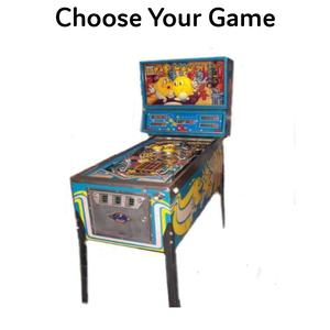 Pinball Game rental Houston, TX