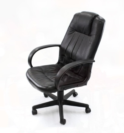 Executive Black Leather Chair rental Dallas-Ft. Worth, TX