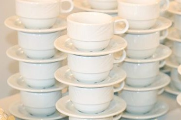 Coffee Cup Saucer rental Dallas-Ft. Worth, TX