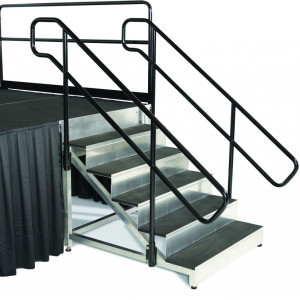 Stage Stairs with Handrails rental Dallas-Ft. Worth, TX