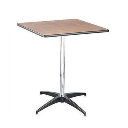 "30"" Square Pedestal Table rental Dallas-Ft. Worth, TX"