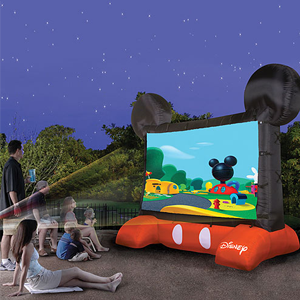 Mickey Mouse Screen rental Dallas-Ft. Worth, TX
