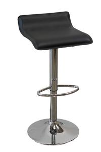 Adjustable Leather Barstool rental Dallas-Ft. Worth, TX