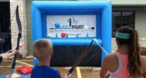 Archery Tag Hoverball rental Dallas-Ft. Worth, TX