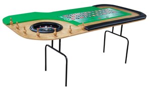 8ft Roulette Table rental Dallas-Ft. Worth, TX