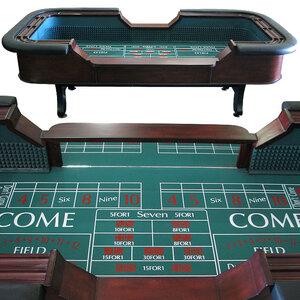 Craps Dice Table rental Dallas-Ft. Worth, TX