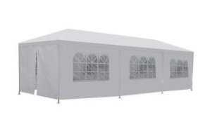 10 x 30 White Frame Tent rental Dallas-Ft. Worth, TX