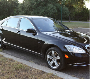 Mercedes S550 rental Dallas-Ft. Worth, TX