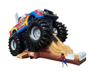 Monster Truck Bouncy Combo rental Dallas-Ft. Worth, TX