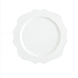 White Salad Plate rental Dallas-Ft. Worth, TX