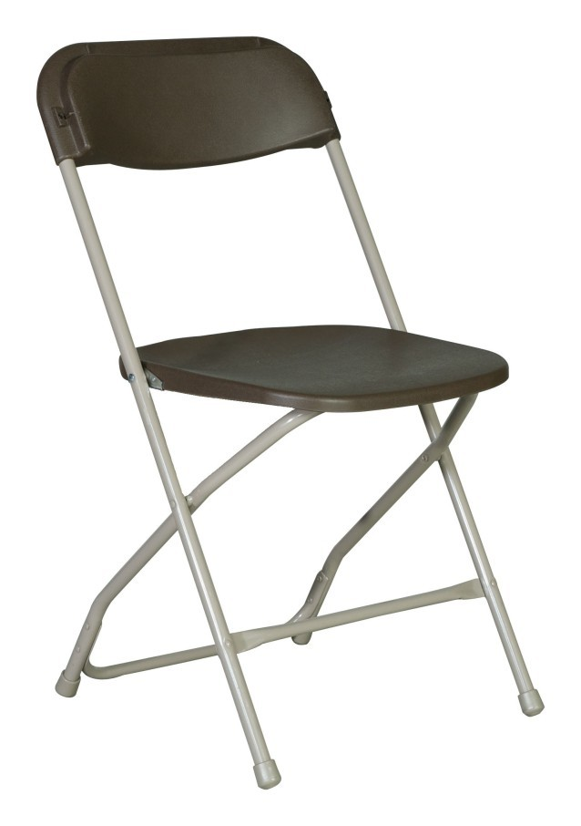 Alloy Folding Chair rental Dallas-Ft. Worth, TX
