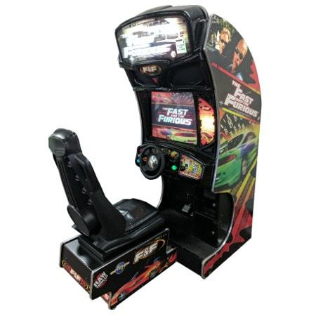 Fast & Furious Arcade Game rental Dallas-Ft. Worth, TX