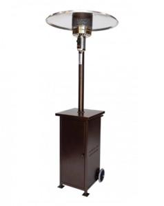 Bronze Outdoor Heater rental Dallas-Ft. Worth, TX
