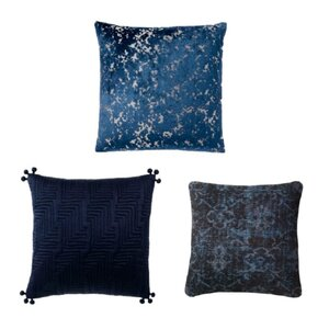 Navy Throw Pillows rental Dallas-Ft. Worth, TX