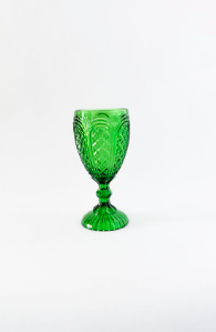 Green Carousel Goblet rental Dallas-Ft. Worth, TX