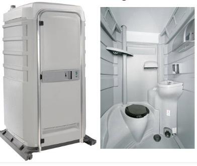 Flushable Portable Restroom rental Dallas-Ft. Worth, TX