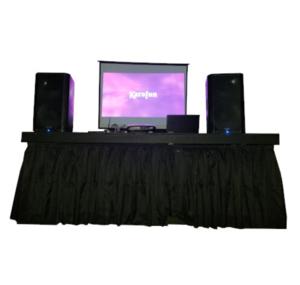 Premium Karaoke Package rental Dallas-Ft. Worth, TX