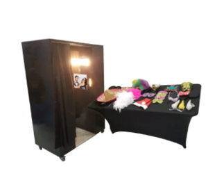 Enclosed Photo Booth rental Dallas-Ft. Worth, TX