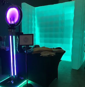 LED Open Air Photo Booth rental Dallas-Ft. Worth, TX