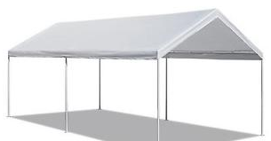 10 x 20 White Frame Tent rental Dallas-Ft. Worth, TX