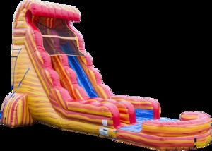 22' Water Slide - Blazing Tides rental Dallas-Ft. Worth, TX