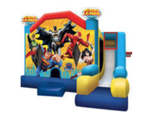 Justice League Bouncy House rental Dallas-Ft. Worth, TX