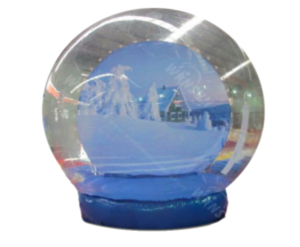 Snow Globe Photo Booth rental Dallas-Ft. Worth, TX