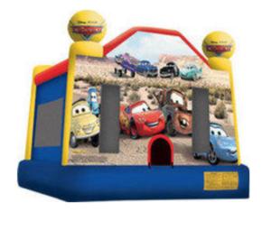 Disney Cars Bouncy House rental Los Angeles, CA