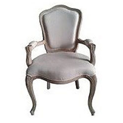 French Country Wood Arm Chair rental Los Angeles, CA