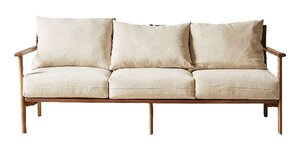 Relaxed Mid-Century Modern Sofa rental Los Angeles, CA