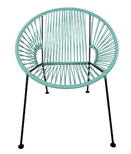Mint PVC Cord Chair rental Los Angeles, CA