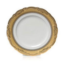 Gold Edge China Salad and Dessert Plate rental Los Angeles, CA