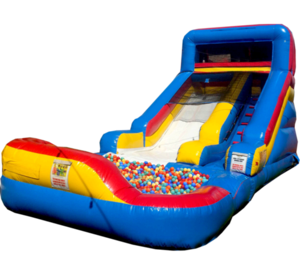 7' Dry Slide with Ball Pit rental Los Angeles, CA