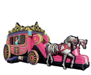 Carriage Bouncy House Combo rental Los Angeles, CA
