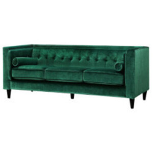 Emerald Velvet Sofa rental Los Angeles, CA