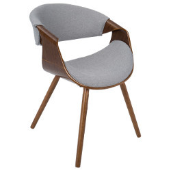 Gray Midcentury Modern Chair rental Los Angeles, CA