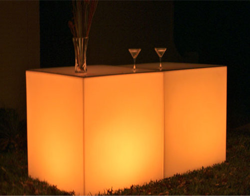 Glow Rectangular Bar rental Los Angeles, CA