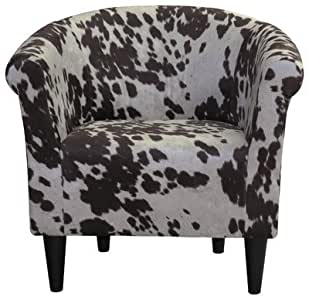 Cowhide Barrel Chair rental Los Angeles, CA