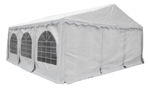20 x 30 White Frame Tent rental Los Angeles, CA