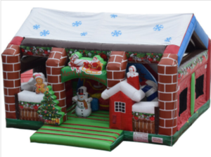 Christmas Wonderland Bounce House rental Los Angeles, CA