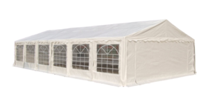 20 x 40 White Frame Tent rental Los Angeles, CA