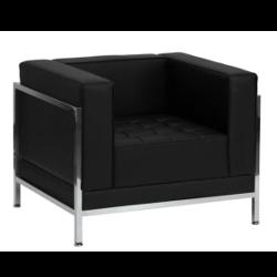 Black Leather Armchair rental New Orleans, LA