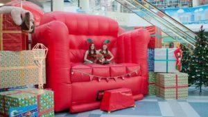 Big Red Sofa rental New Orleans, LA